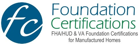 Foundation Certifications for Manufactured Homes